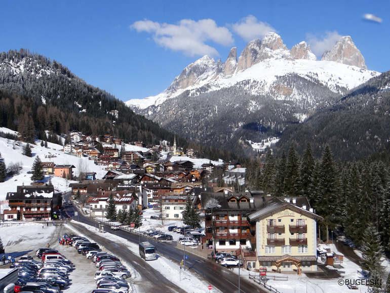 Валь ди Фаса и Курмайор – лучшие лыжные курорты Италии