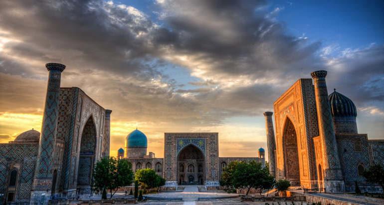 Красивейшие города Азии – Самарканд