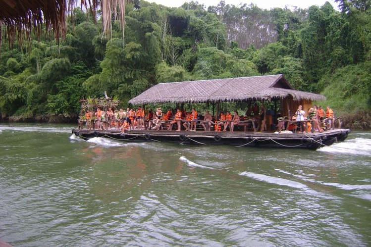 Путешествие по реке Квай