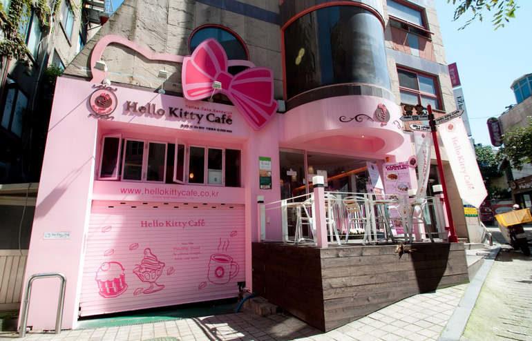 Уникальные тематические кафе и рестораны Сеула