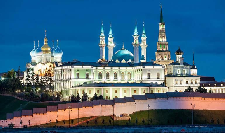 Казань для туристов. Россия