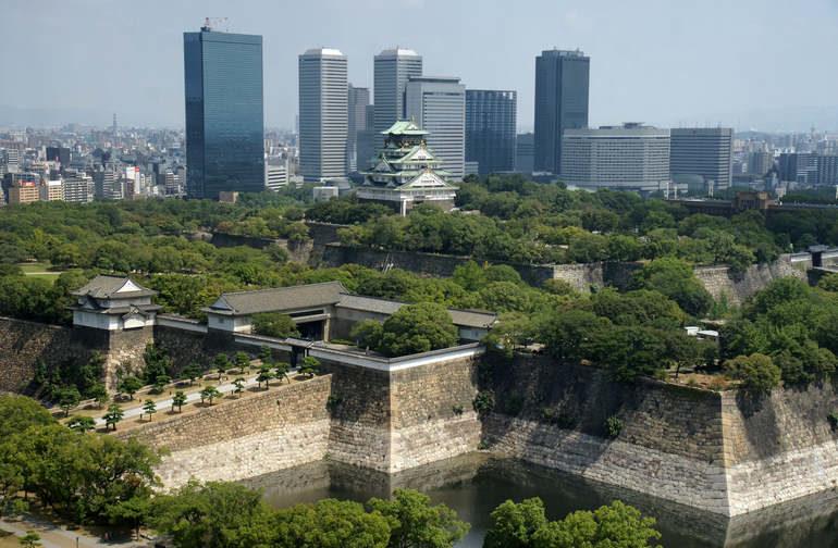 Поездка в японский город Осака