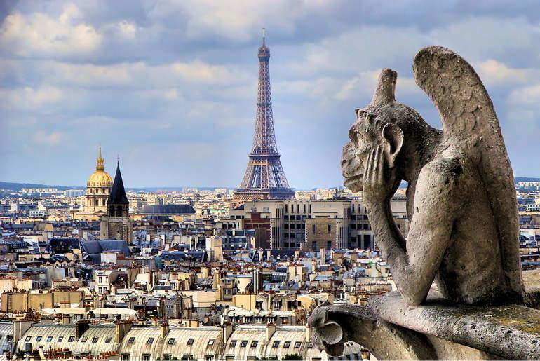 Французская столица с ее неповторимыми символами