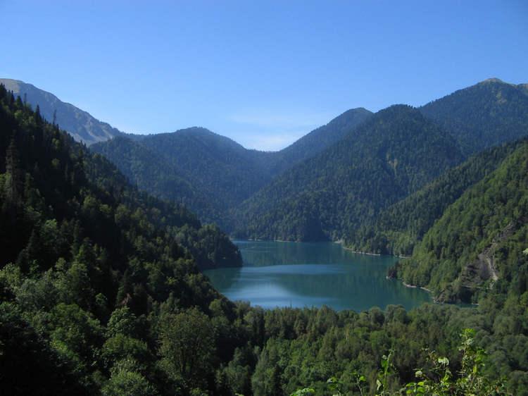 Озеро Рица   горная жемчужина Абхазии