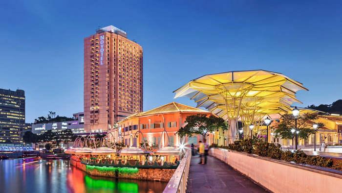 Сингапур, набережная Кларк Куэй (Clarke Quay)