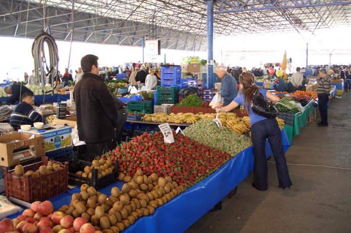 Рынки и магазины Анталии