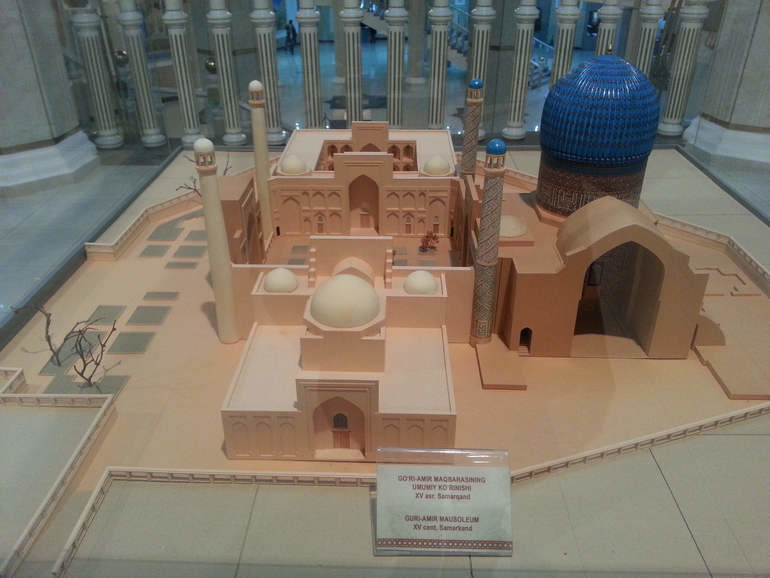 Музей истории Темуридов в Ташкенте (Узбекистан)