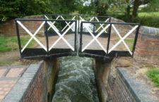 Сплит-мосты Стратфордского канала (Великобритания)