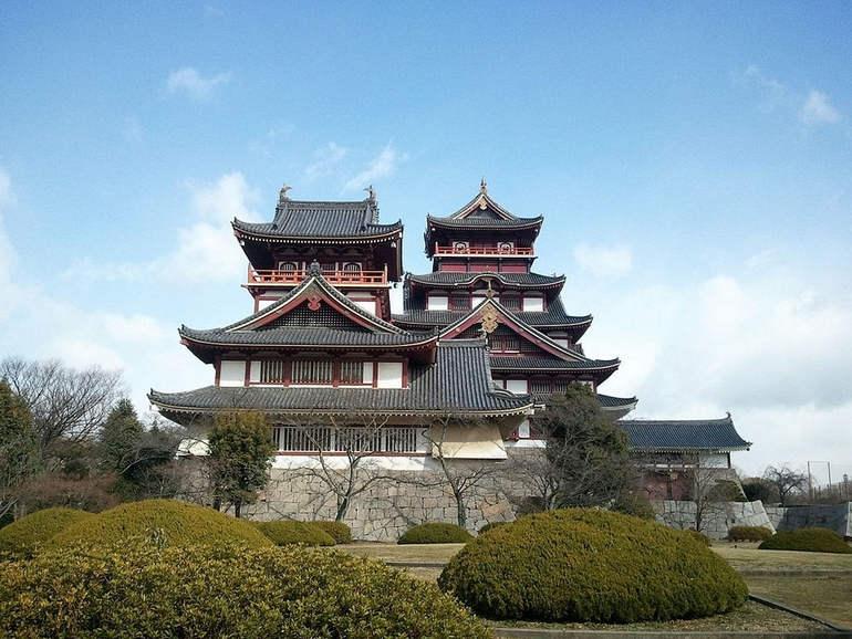 Кровавые потолки замков Киото (Япония)
