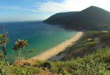 Пляж острова Нозаки
