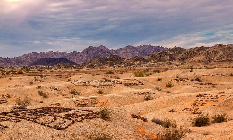«Долина Имен» в Аризоне (США)