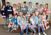 Семья Редфордсов в полном составе