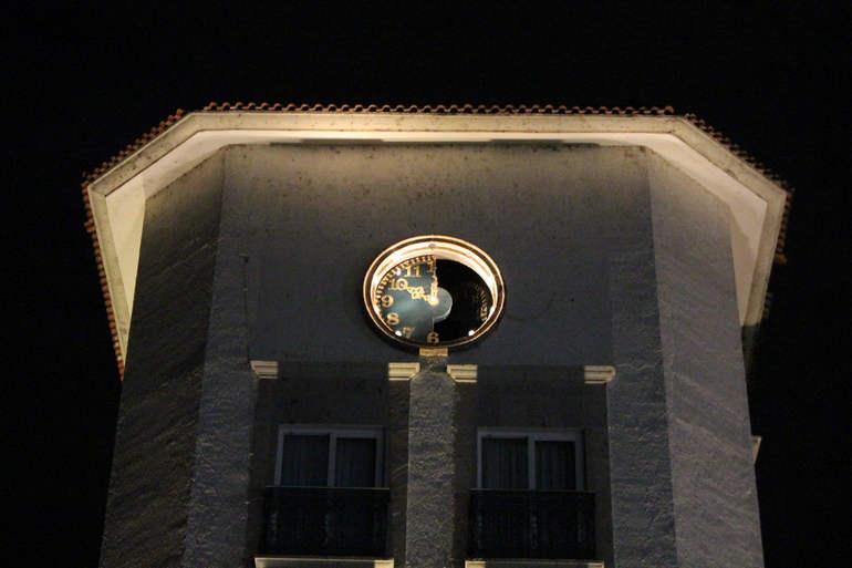 Необычные часы города Агуаскальентес (Мексика)