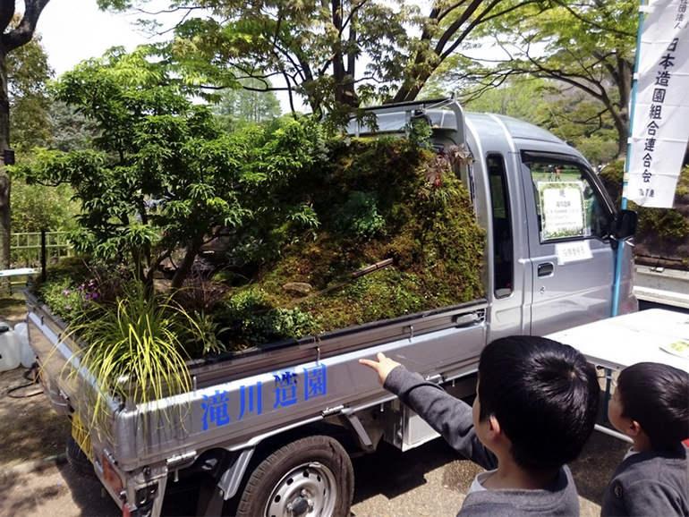 Kei Truck Garden Contest: конкурс кузовного садоводства (Япония)
