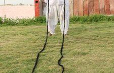 Гирдхар Вьяс и его самые длинные усы