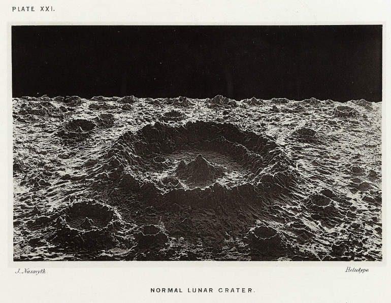 Лунные фотографии Джеймса Несмита, 1874 год