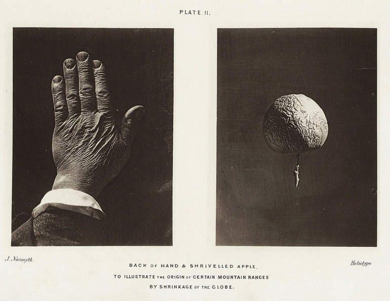 Поддельные лунные фотографии Джеймса Несмита (1874 год)