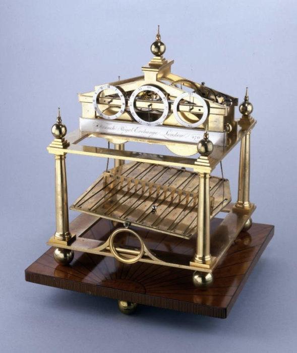 Часы Конгрива в Британском музее