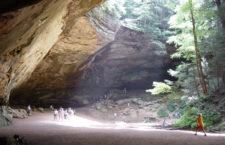 Пещера Пепла (Ash Cave) в парке Хокинг Хиллз