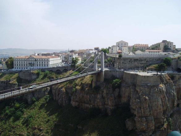 Мост Sidi M'Cid в Константине (Алжир)