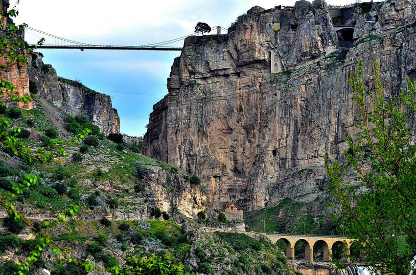 Мост Sidi MCid в Константине (Алжир)