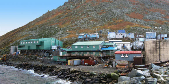 Остров Малая Диомида (Крузенштерна) на Аляске (США)
