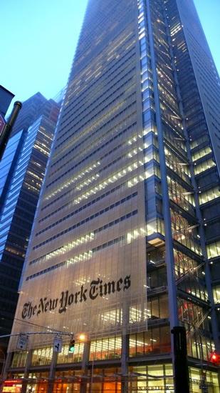 Нью-Йорк Таймс-Билдинг. The New York Times Building