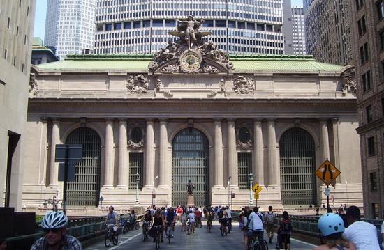 вокзалы США центральный вокзал Нью-Йорка