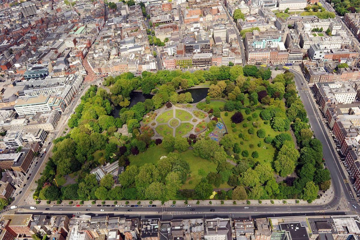 Парк Святого Стефана в Дублине
