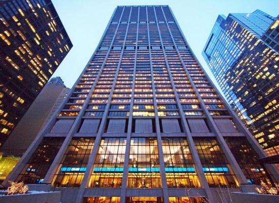 Башня Джей Пи Морган Чейз. JPMorgan Chase Tower