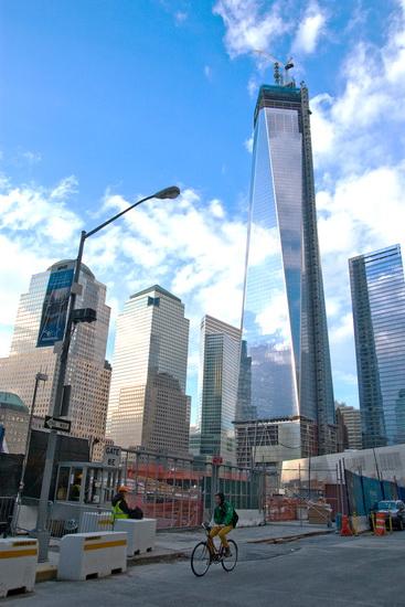 Башня всемирного торгового центра 4. 4 World Trade Center