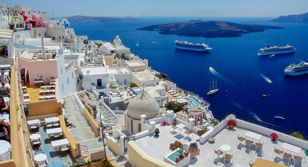 Греческий остров Санторини