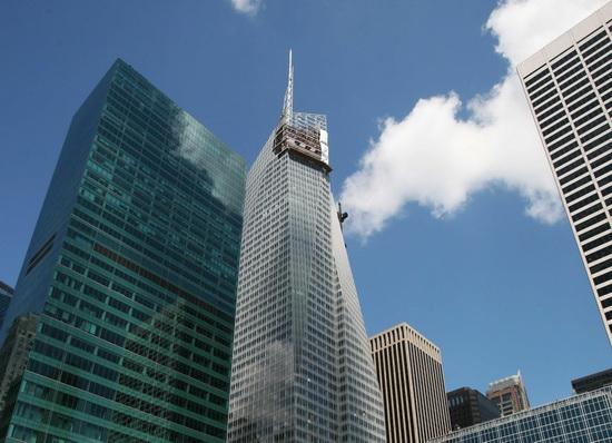 Башня Банка Америки. Bank of America Tower