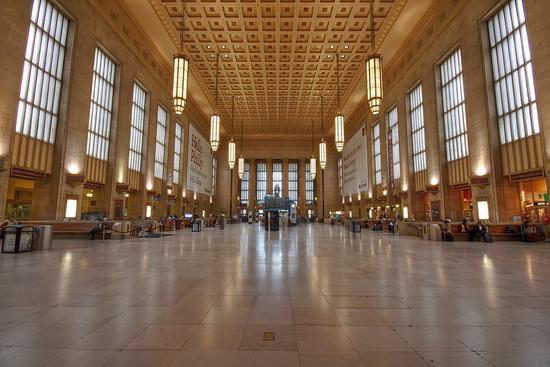 вокзалы США Филадельфия