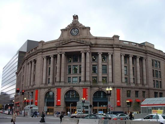 вокзалы США Бостон