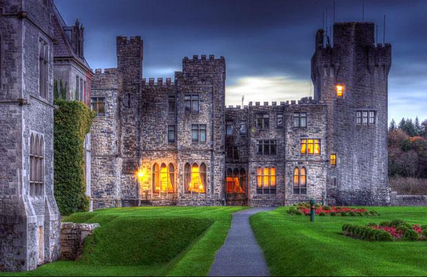 замок Эшфорд лучшей гостиницей Британии и Ирландии.