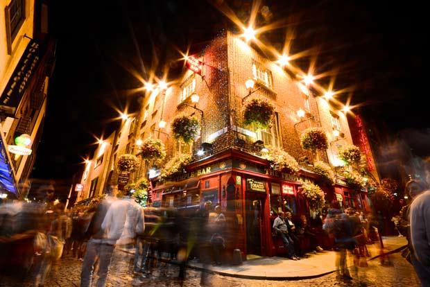 Темпл-бар в Дублине