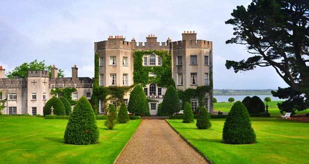 Glin Castle принадлежал семье Глин целых семь столетий.