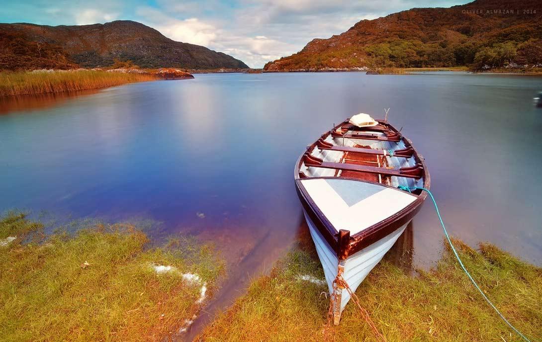 Так великолепно выглядят озёра Килларни.