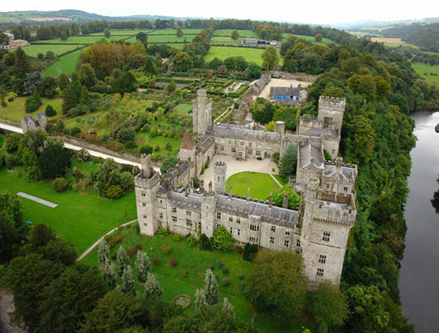 Замок Лисмор в графстве Уотерфорд