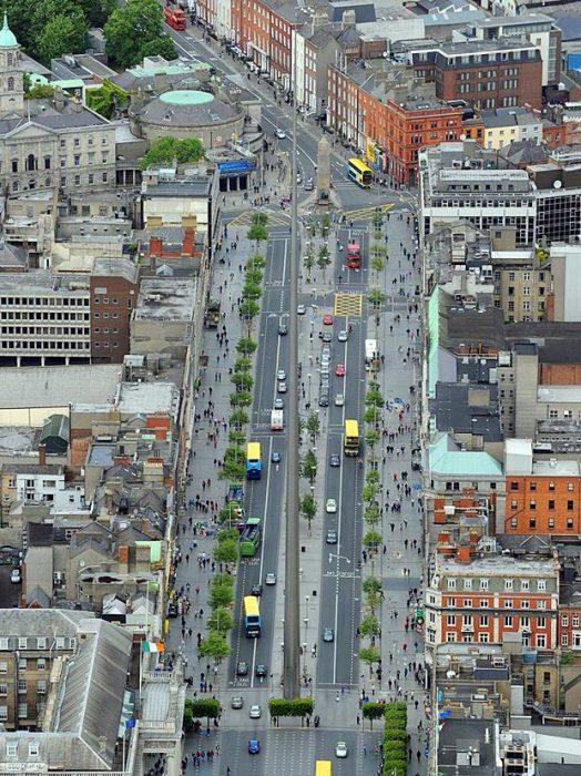 Дублинская игла и О'Коннелл-стрит