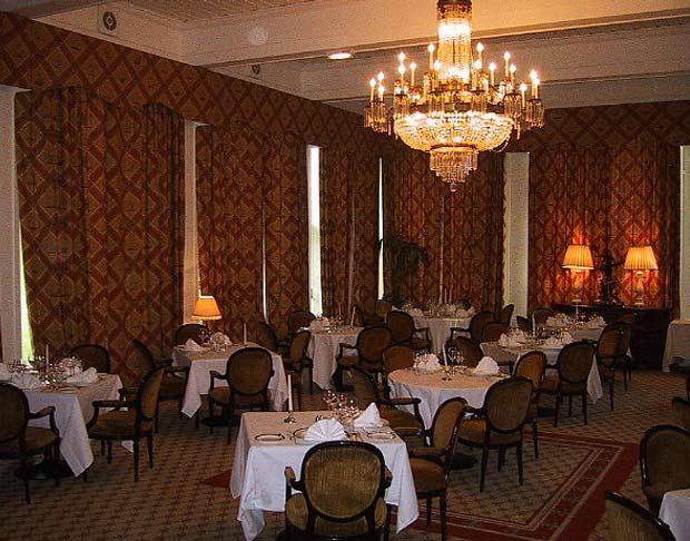 Гостинная отеля в Ирландии