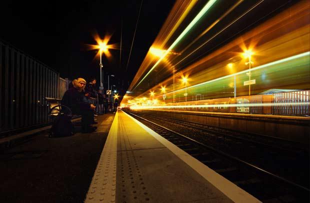 Железнодорожная станция в Дублине