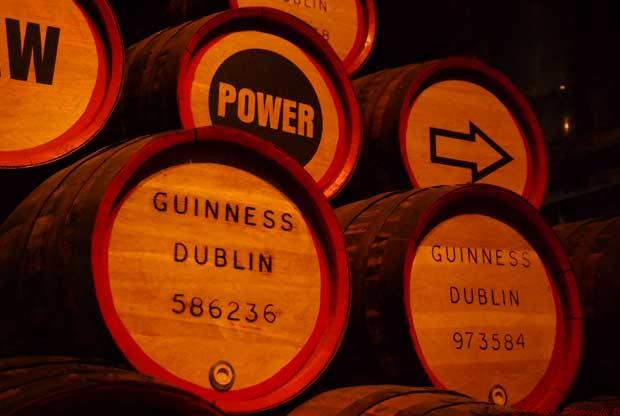 Guinness Storehouse — одна из культовых достопримечательностей столицы Ирландии.