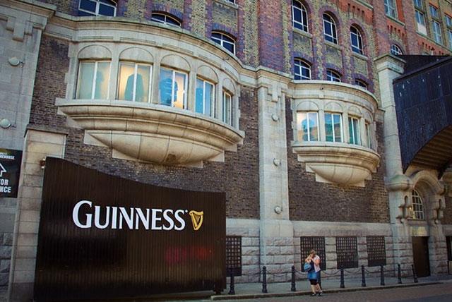Так выглядит Гиннесс пиво и музей пива в Дублине.