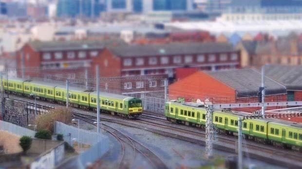 Забавные поезда в Ирландии