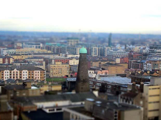 Вот такой игрушечный город Дублин