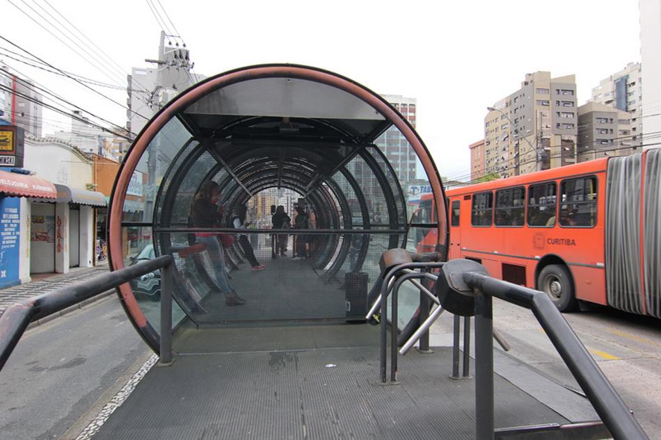 Система общественного транспорта бразильского города Куритиба