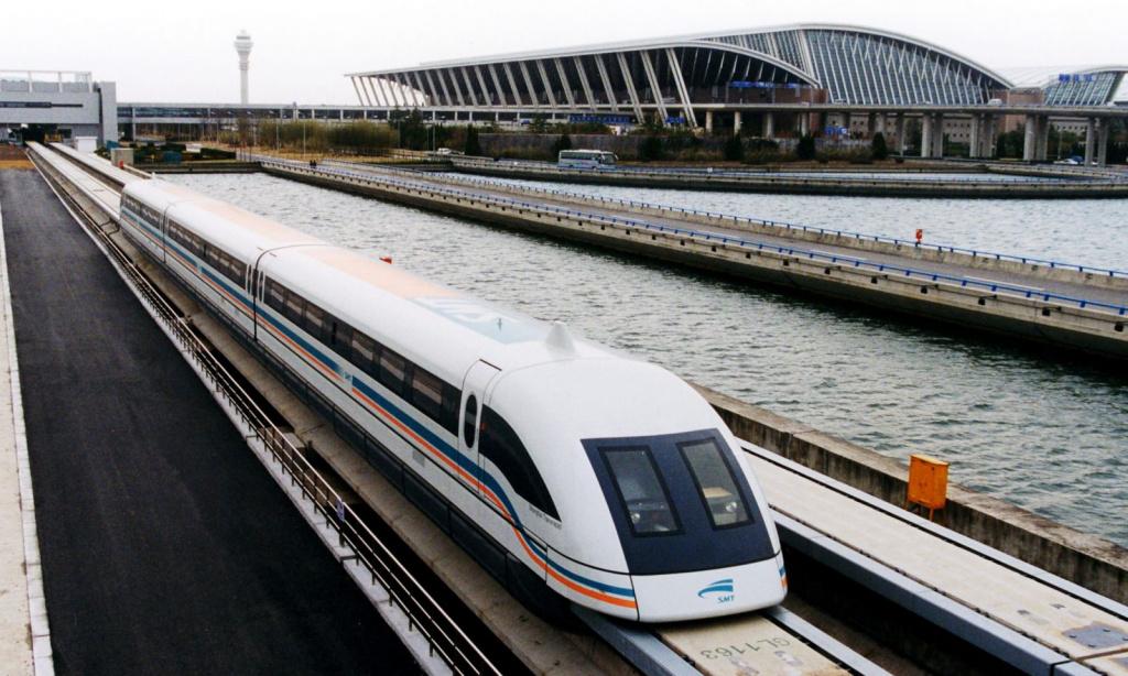 Шанхайский маглев. Левитирующий поезд