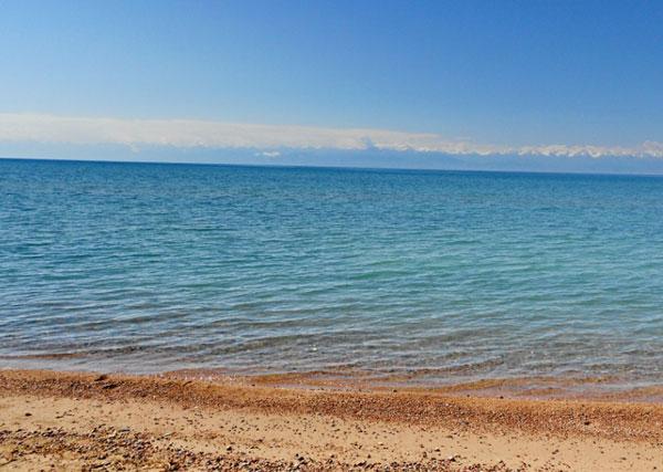Фото озера Иссык-Куль